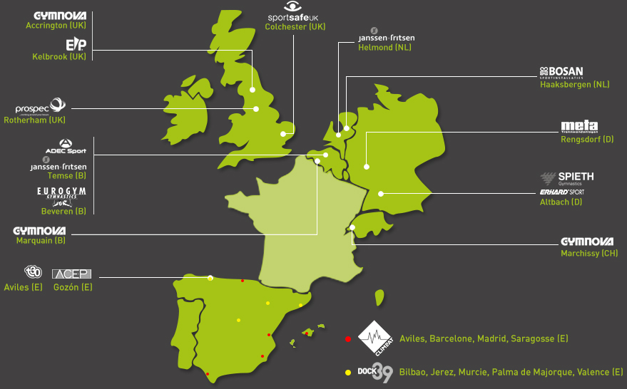 The ABEO group in Europe