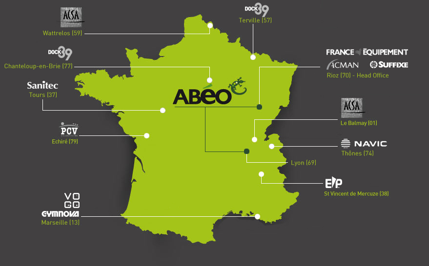The ABEO group in France