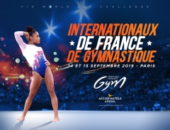 GYMNOVA, fournisseur officiel des Internationaux de France à Paris