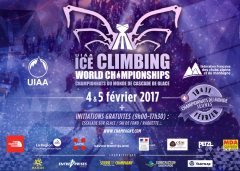 Ice Climbing World Championships in Champagny-en-Vanoise