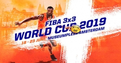 World Cup 3x3 basketball in Amsterdam