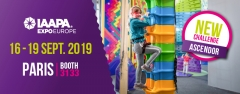 Clip 'n Climb au salon IAAPA Expo Europe à Paris