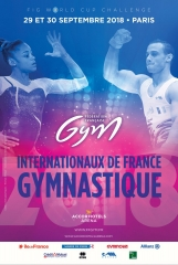 GYMNOVA, fournisseur officiel des Internationaux de France de gymnastique