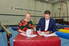 JANSSEN-FRITSEN and the Royal Dutch Gymnastics Federation intensify cooperation
