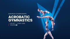 GYMNOVA: official supplier of the European Championships in Acrobatic Gymnastics