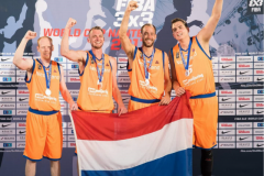 Dutch Orange Lions 3x3 club supported on the way to Tokyo