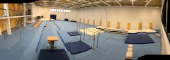SPIETH Gymnastics equips the New Gymnastics Training center next to Prag Castle