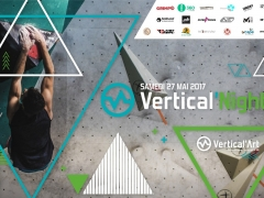 Vertical Night 2 bouldering competition